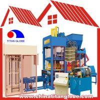 Concrete Hollow Block Brick Making Machine QTJ8-15 / Concrete Hollow Block Brick Making Machine Line QT8-15