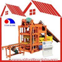 QT4-25D Semi-Automatic Block Machine/Brick Making/Hollow Block Making Machine Line QTJ4-25D