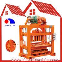 QTJ4-35A Fly Ash Hollow Block Machines, Concrete Block Making Machine Price, Hollow Cement Brick Making Machine Sale