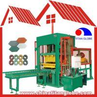 QTJ4-20 Hydraulic Automatic Backing-Free Brick Machine
