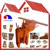 QMR2-40 Manual Hand Block Making Machines Clay Hand Moulding Machine