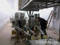 Surimi crab meat production line