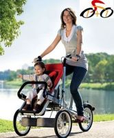 Innovative baby product - mother and baby bicycle, baby stroller, pram