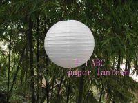 "White Chinese Paper Lanterns Wedding Decorations, 8"" 10"" 12"" 14"" 16"""