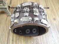 Europe and America vintage punk leather bracelets