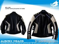 Leather Motorcycle Jacket for Ladies