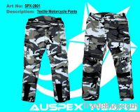 Camoflauge textile motorcycle pants