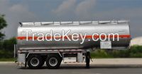 9282GYY_28200L Carbon Steel Tanker Semi-Trailer with 2 axles for Fuel or Diesel Liqulid