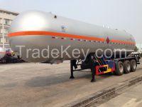 9453GYQ-45000L 3 axles  Liquefied Petroleum Gas LPG Lorry Tank Semi Trailer for Liquid Ammonia