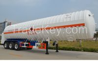 9553GDY-53000L 3 axles Liquid  Natural Gas Tank semi trailer for LNG