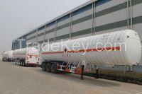9533GDY-53000L 3 axles Liquid  Natural Gas Tank semi trailer for LNG