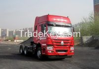 ZZ4257V3847D1CB_HOWO 6X4-420HP-1 BEDS-TruckTractor truck- Semi-trailer Towing Truck- CNG Engine