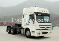 ZZ4257S3241V_6X4-371HP-2 BED-Tractor truck, Primer Moving, Semi-trailer Towing Truck