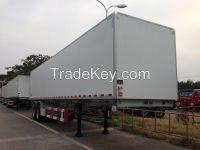 9202XBW 40 feet 2 axles Koegel FRP+PU+FRP composite Insuated semi-trailer