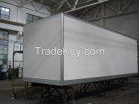 6300mm Koegel FRP+PU+FRP composite Insuated and Refrigerated kits and Box