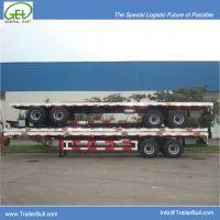 40 feet bogie suspension Flat Bed Semi-Trailer