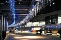 LED icicle light for Christmas decoration outdoor waterproof connectable
