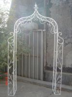 Garden furniture iron arch