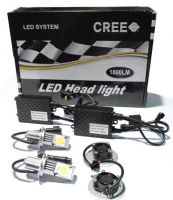 LED Car Cree Head Light Kit H7-50W/1800LM x2pcs