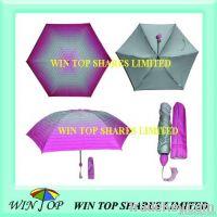Super slim mini folding umbrella