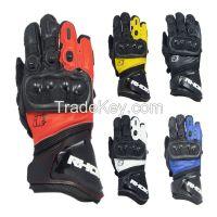 Custom Made Motorcycle Gloves Motorcross Leather GLoves Waterproof Motorbike Gloves Custom Logo OEM Order MOQ:500pairs