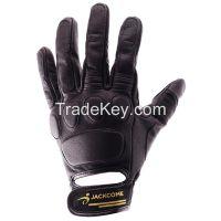 Blackjack Short Motorcycle Leather Glove