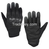 Mens Tactical Gloves Hard Knuckle Full Finger Durable Adjustable