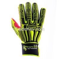 Oil field used oil resistant industrial anti-impact safety worker gloves