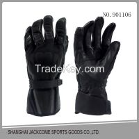 Cow hide leather Fire fighting tactical gloves