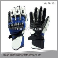 New fashion Cheap leather motorcycle racing gloves with GEL Pad