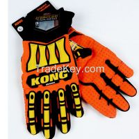 4006 KONG Original Waterproof Impact Resistance Mechanic Safety Gloves for Oil and Gas Industry