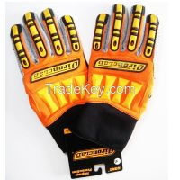 4001 Grey Palm Heavy Duty Impact Resistant Kong Mechanics Glove with not cotton