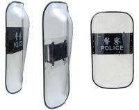 anti riot shield of convex surface