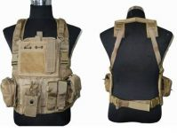 Tactical chest rig of lightweight