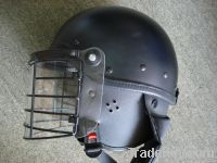 Anti Riot Helmet with Metal Mask