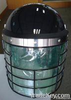 Metal Mask Helmet