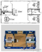 Movable Container Villas