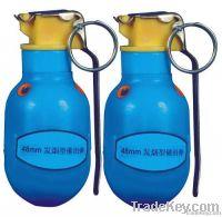 48mm smoke tear gas grenade