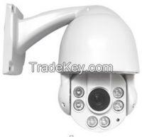 "Economical 2MP 4"" mini high speed dome camera 40IR/10x/"