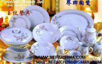 16pcs stoneware hand-painted dinner set, Vajilla de porcelana