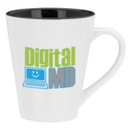 stainless steel color changing mug, ceramic magic mug