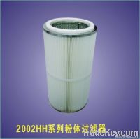 Powder filter element