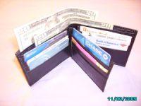 Leather Cowhide Men's Bifold Wallets