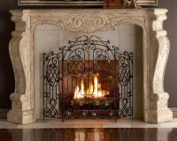 Marble/Granite Fire Place