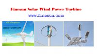 Solar Wind power generator