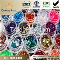 1/256 different colors shimmer glitter powder eyeshadow