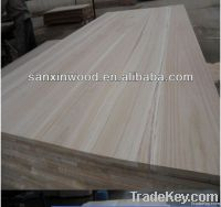 AA grade paulownia furniture board