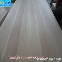 AA grade paulownia wood panels for furniture