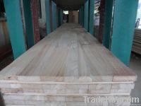 paulownia kiri edge glued board