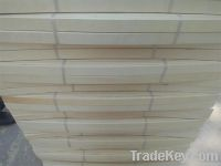 Poplar core plywood with bending bed slats